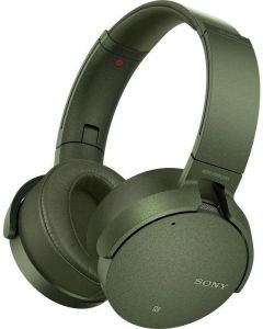ebf19354ee9 Sony XB950N1 Extra Bass Wireless Noise Cancelling Over-The-Ear Headphones,  Green