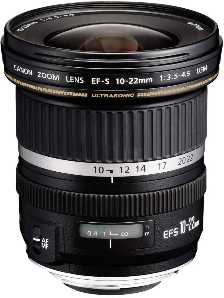 Canon EF-S 10-22mm F/3 5-4 5 USM Ultra Wide-Angle Lens