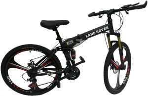 358c88c15fa Land Rover aluminum Wheel Mountain Bikes 26 inch 21 Speeds Suspension  Folding Bicycles ,Front suspension can be locked,Equipped With Shimano  Gears ,Disc ...