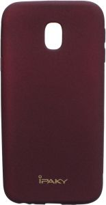 sports shoes 01d9e 15a8b Ipaky Back Cover For Samsung Galaxy J3 Pro, Red
