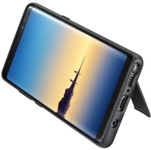 Samsung Galaxy Note 8 Protective Standing Cover Case - Black