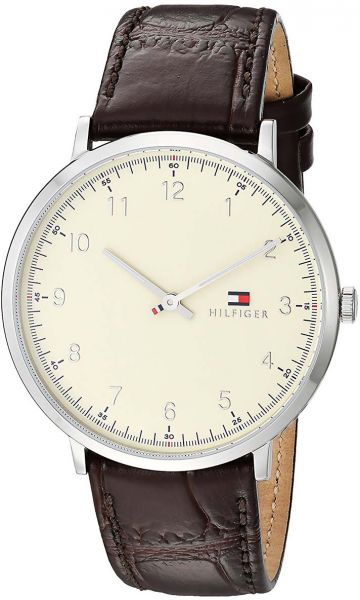 Tommy Hilfiger Casual Watch For Men Analog Leather 1791338 Ksa