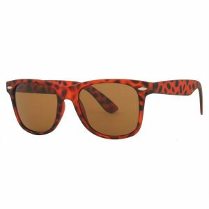 b3eb23c9fd Retro Vintage Wayfarer Sunglasses by Nova - Brown Tortoise