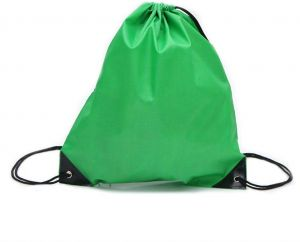 e9e9f9d6679c Drawstring back bags made of Nylon Bag Ruck Sack School Tote Gym Bag Sport  Pack Dark Green