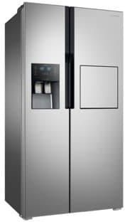 Samsung Side By Side Refrigerator 620 Ltrs Shiny Silver