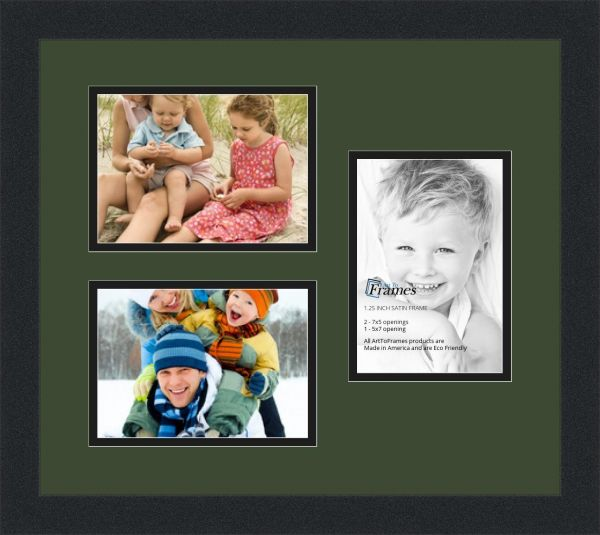 Souq Arttoframes Collage Photo Frame Double Mat With 3 Openings