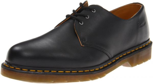 70317d01974d Dr. Martens unisex-adult 1461 3-Eye Gibson Black Nappa Leather Oxford UK 5 (US  Women s 7) Medium