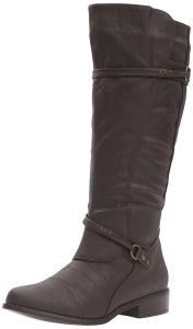 4eff284d4b8 Brinley Co Women s Olive-Wc Riding Boot