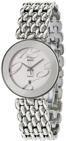 62d78b3a5 Rado Florence Men's White Dial Stainless Steel Band Watch - R48742143