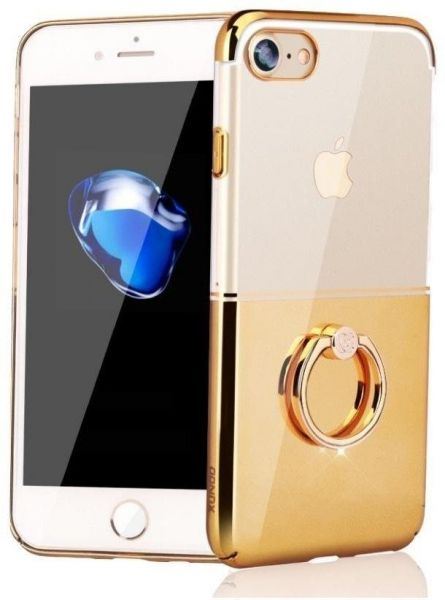 Xundd Luxury Ring Holder Case For Iphone7 Iphone8 Transparent Pc
