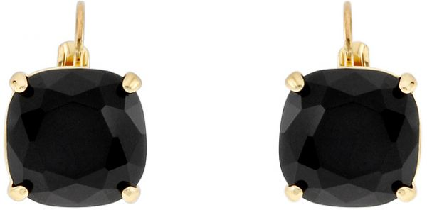 Buy Kate Spade Women S Gold Plated Square Leverback Clip Earrings
