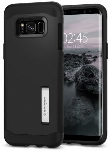 Spigen Samsung Galaxy S8 Slim Armor cover / case - Black