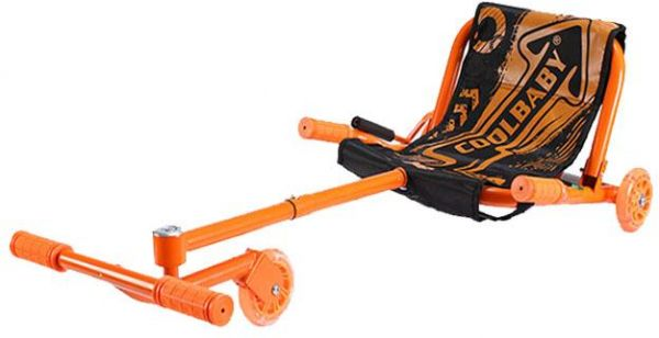 Seat for Smart Self Balance Wave Roller Ride On Toy 3 Wheel Scooter - Color Orange
