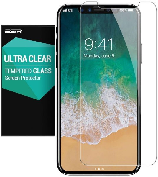 ESR Screen Protector for iPhone X, Tempered Glass