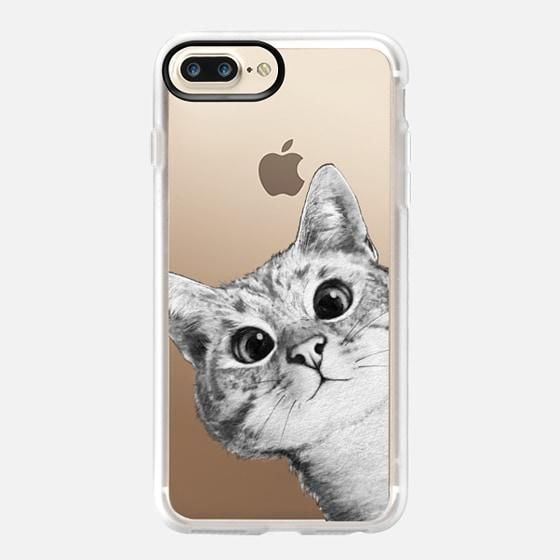 new products 6266f a4c92 Casetify-iPHONE 7 Plus CASE / Peekaboo Cat