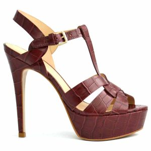 9cbff8324860 Chic Shoes Maroon Heel Sandal For Women