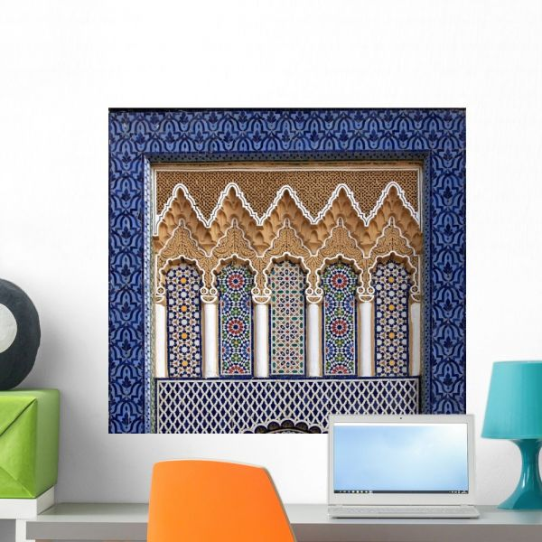 Souq Royal Palace Fez Morocco Wall Mural by Wallmonkeys Peel and