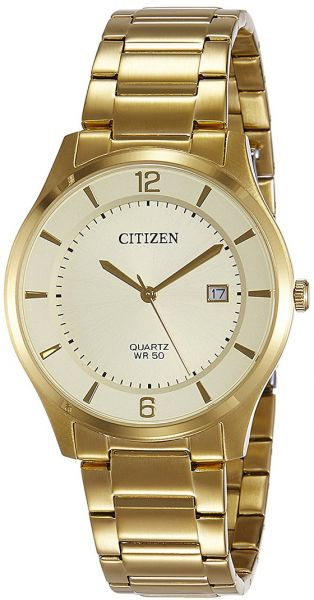 2614c1c5447 Citizen Men s Gold Dial Stainless Steel Band Watch - BD0043-83P. by Citizen