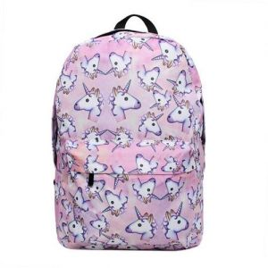 Unicorn Backpack 3D Printing Travel School Backpack for Teenage Girls  BG-BP002 179f06d31c994