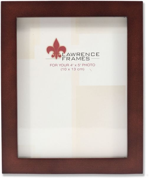 Lawrence Frames 755945 Espresso Wood Picture Frame, 4 by 5-Inch ...
