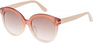 8b45e9ef9e74 Tom Ford Oval Women s Sunglasses - FT0429-F-74F - 54-20-140mm