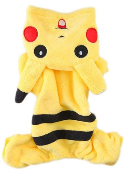 This item is currently out of stock  sc 1 st  Souq.com & Souq | Dog Cat Clothes Cute Cartoon Pikachu Cosplay Costume Pets ...