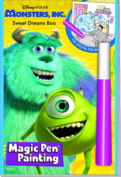 Monsters Sweet Dreams Boo Magic pen painting book | Souq - Egypt
