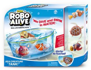Zuru Robo Alive Boys-Value Pack Fish and Turtle , nuisex , 3 years , 7106