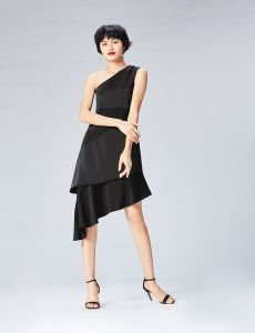 d6681b8c5d98 Buy black polyester special occasion dress for women 11944373
