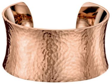 a71db3bba3 Calvin Klein Women s Stainless Steel Rose Gold PVD Coated Dawn Cuff ...