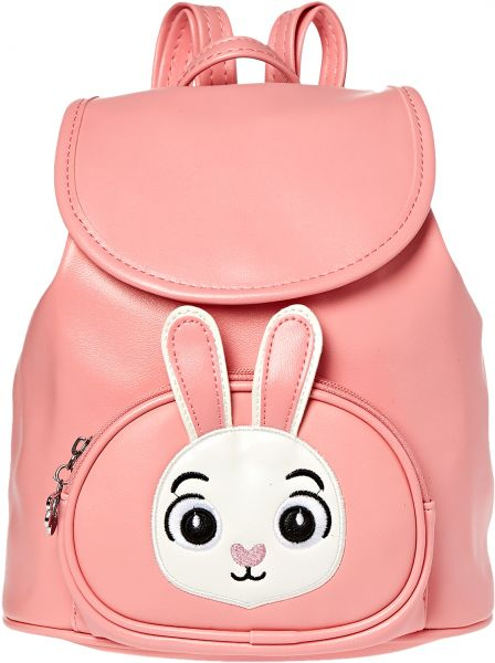 Yuejin YJ8197277GZ Fashion Backpack for Girls - Faux Leather, Pink a81edeb70f