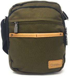 3b412c1e13 National Geographic N11703.11 Messenger Bag for Men - Canvas