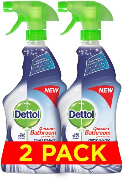 ddfb47482eed Dettol Healthy Bathroom Power Cleaner Trigger Spray - Pack of 2 ...