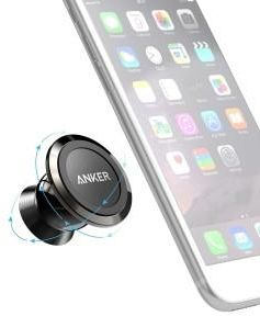6a8ac0ac6 Anker Universal Magnetic Car Mount - Ultra-Compact 360 Rotation Phone  Holder Dashboard Mount for iPhone X   8   8 Plus   7   7 Plus   6s   Pixel  2   Galaxy ...