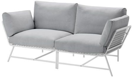 Ikea Ps 2017 2 Seat Sofa White Grey