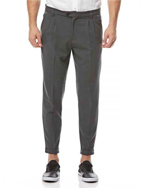 8bc54dbd3286 Casual Friday Slim Fit Trousers for Men - Grey