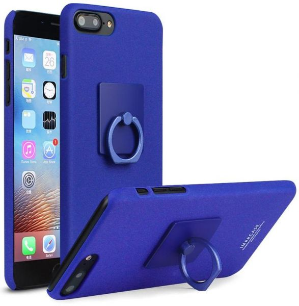 Imak Iphone 8 Plus Cowboy Hard Back Case Cover Matte Blue With