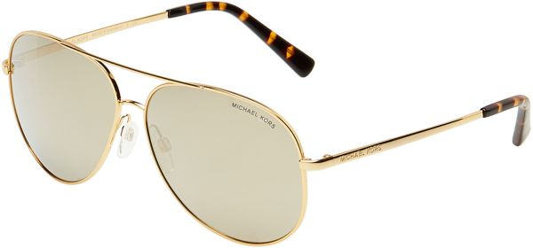a98eccd12e6 Michael Kors Aviator Unisex Sunglasses - MK 5016 1024 5A 60 - 60-12-135 mm