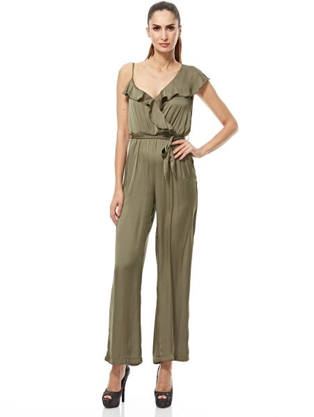f49d2dd875f Bardot Loose Jumpsuit For Women - Olive