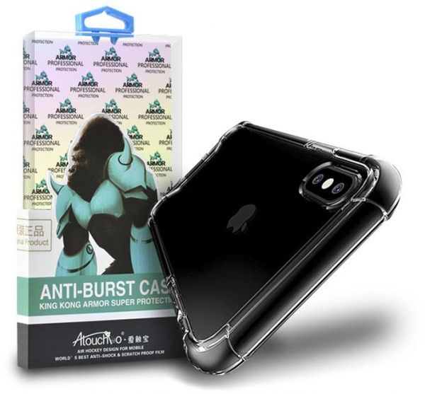 Armour Super Protection Gel Case Cover for iphone X