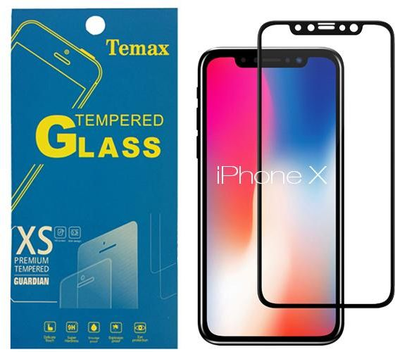 Temax 3D Screen Protector for iPhone X