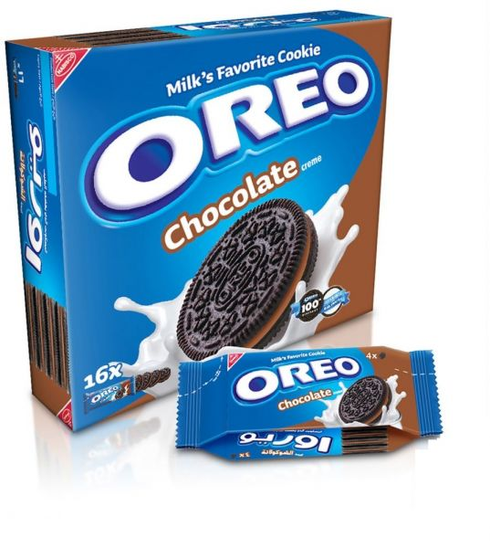 oreo chocolate cream biscuits 44 gm pack of 16 souq uae