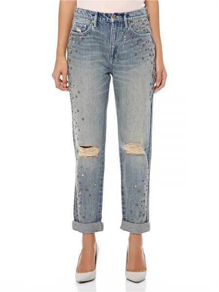 Juicy Couture Ripped Jeans for Women - Blue  ae54be27e