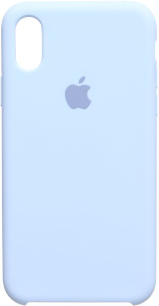Apple Back Cover For Apple Iphone X, Light Blue