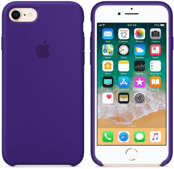 promo code 577eb f790f Apple Silicone case for iPhone 7 Plus / 8 Plus - Ultra Violet