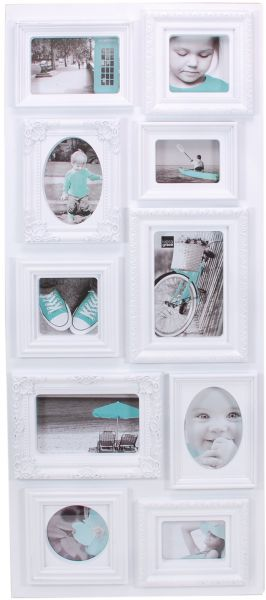 Kiera Grace Sophia 10 Opening Collage Frame, 13-Inch by 31-Inch 13 ...