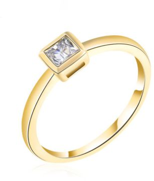 European and American Fashion simple personality ladies ring