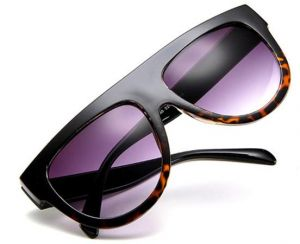 8fdb28e9b32 Women Cat eye Sunglasses Designer Retro Big Frame eyeglass Shades P2897