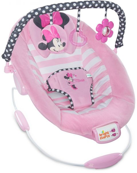 0ce4adaab Bright Starts Minnie Mouse Blushing Bows Bouncer