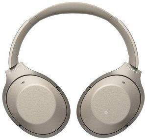 2fdf8a8ead2 Sony Premium Noise Cancelling Wireless Headphones, Gold - WH1000XM2/N